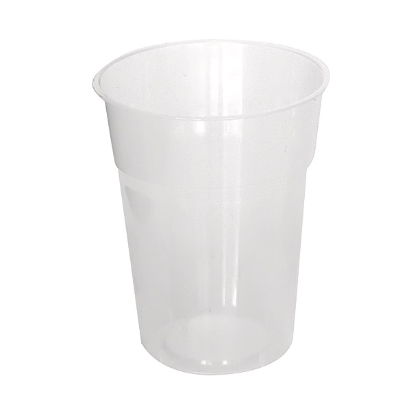 285ml PLASTIC DRINKING CUP CLEAR