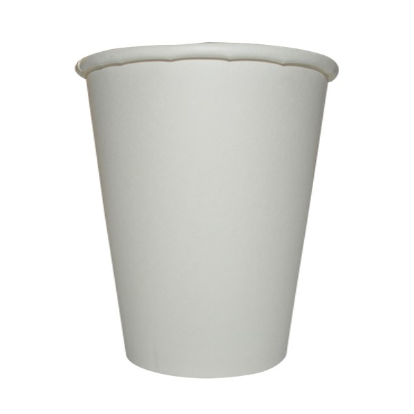 12oz SINGLE WALL COFFEE CUPS WHITE