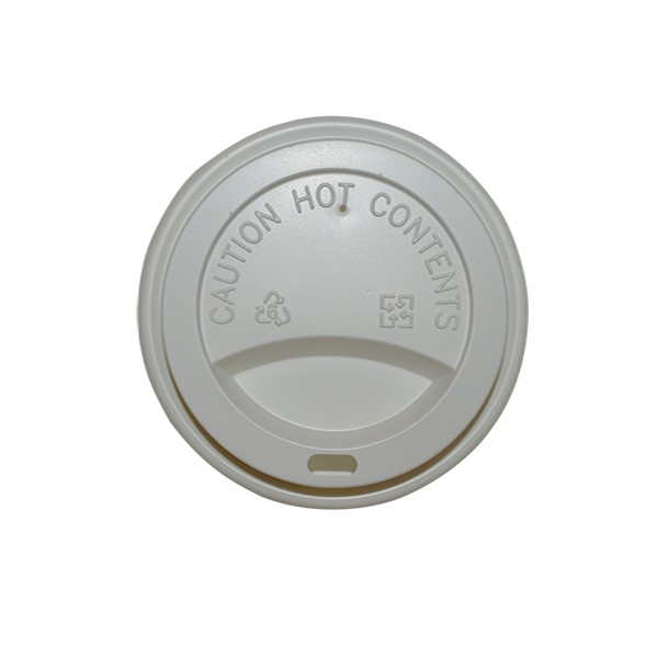 12/16oz WHITE FLAT LIDS 90mm