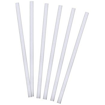 JUMBO DRINKING STRAW CLEAR 225mm 3000pcs