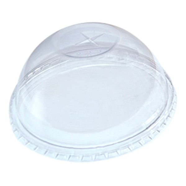PET DOME LID for 14 to 24oz PET CUPS 98mm