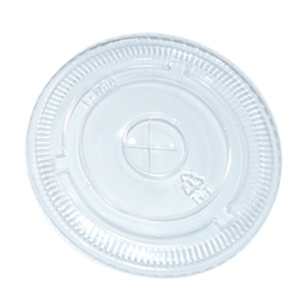 PET FLAT LID for 14to 24oz PET CUPS 98mm