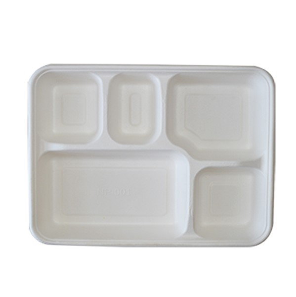 5 Deep 2 Compartment Tray 2