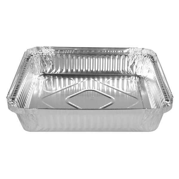 FOIL TRAY SQUARE 7223 OR 360 1500ml