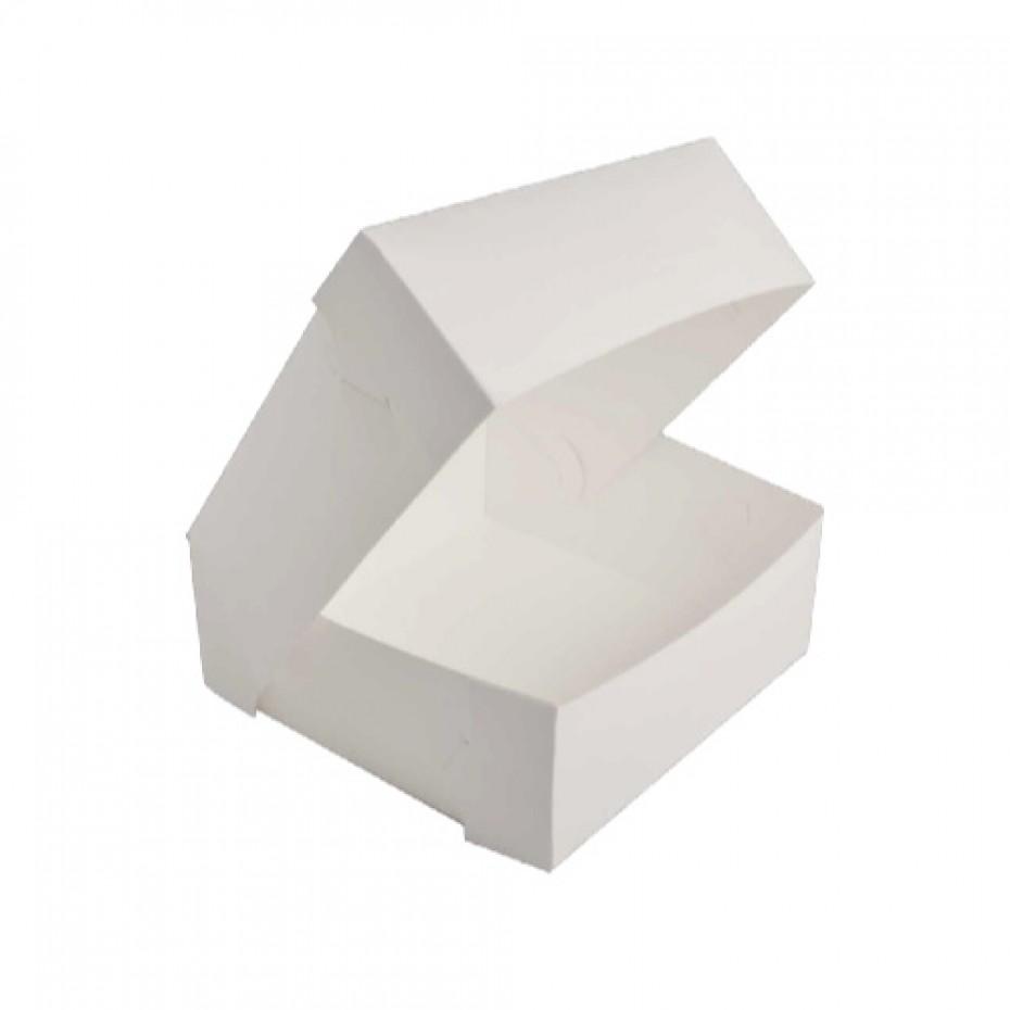 CAKE BOX MILKBOARD 10X10X4″ 100PCS