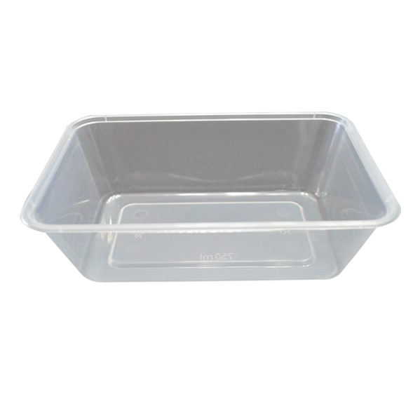 500ml TAKEAWAY RECTANGULAR CONTAINER BASES